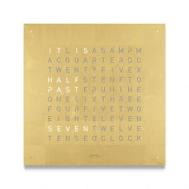 QLOCKTWO CLASSIC Creators Edition Gold